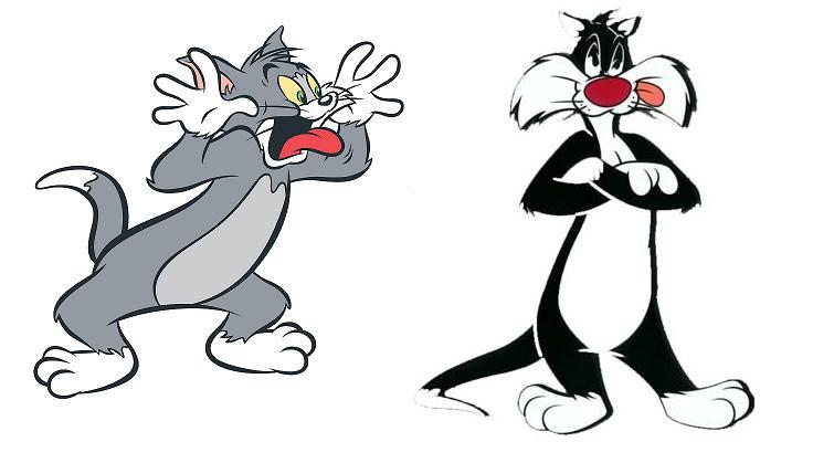 Caricaturas de gatos - Imagui