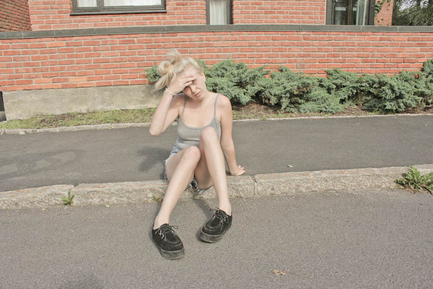 creepers, hipstersquad, cecilie torp, levis, shorts, summer, chill, outfit, cool,