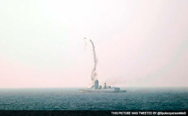 Mumbai Mirror reports that for the three hours on Saturday afternoon when the navy tested Brahmos, the air space in the area remained shockingly open. That is, as the missile was on its way to hitting its target, performing extremely complex manoeuvres, commercial planes flew by in the vicinity.  The Navy had reportedly sent a communication to Air Traffic Control in Mumbai seeking no-fly zone in the area between 1230 hrs and 1530 hrs on Saturday.