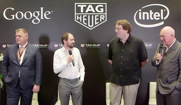 baselworld 2015 parceria tag heuer intel google