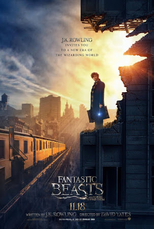 Poster Of Fantastic Beasts and Where to Find Them In Dual Audio Hindi English 300MB Compressed Small Size Pc Movie Free Download Only At beyonddistance.com