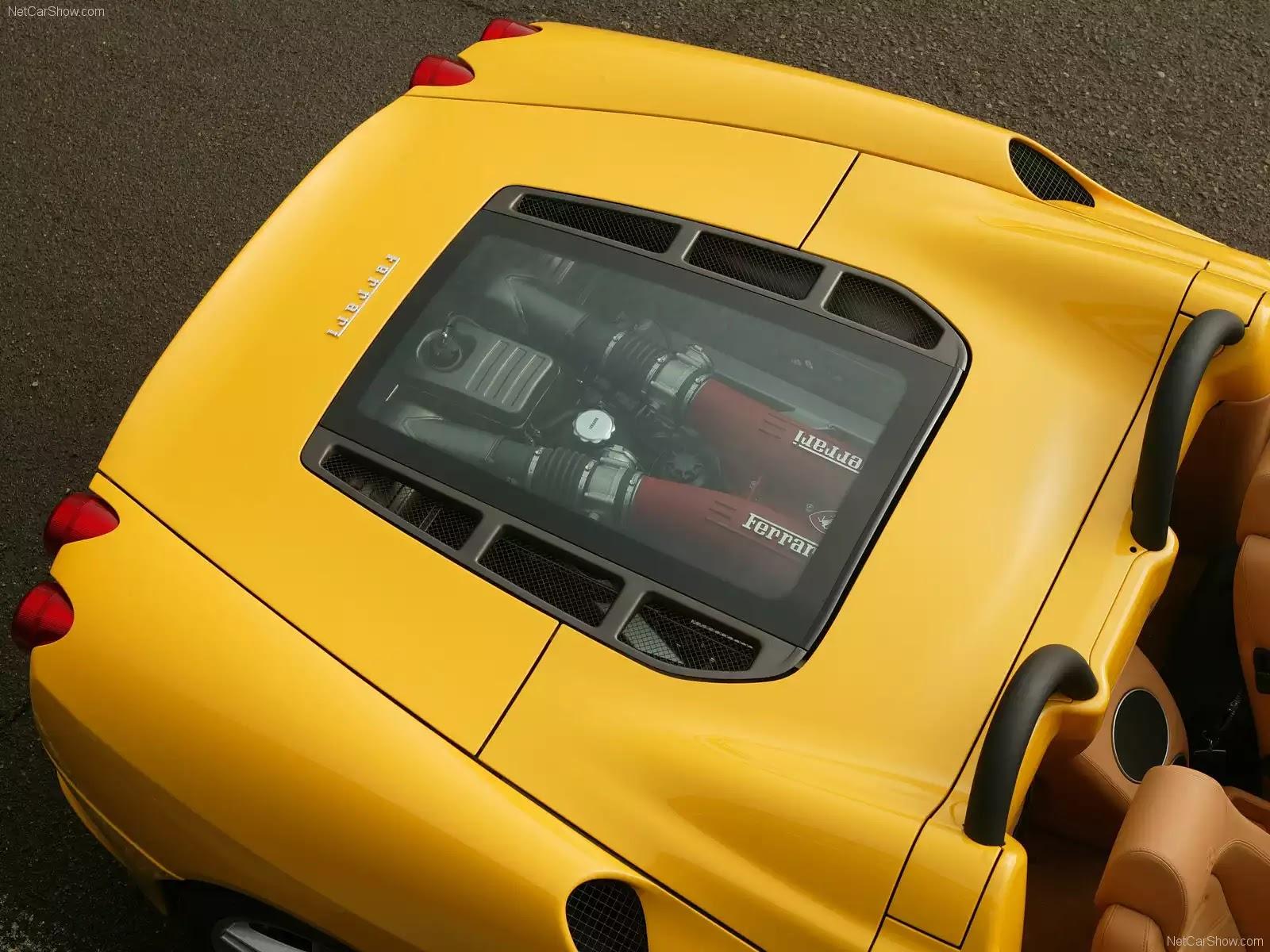 Hình ảnh siêu xe Ferrari F430 Spider 2005 & nội ngoại thất