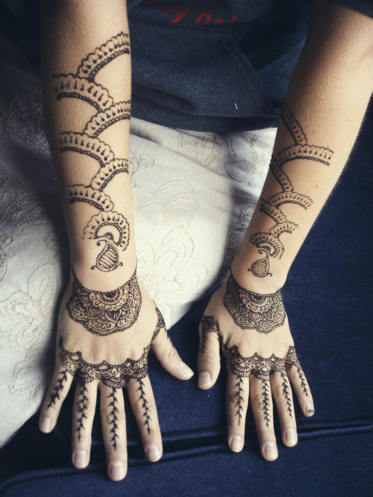 Mehndi Patterns For Arms : Only women secrets most stylish arms mehndi designs
