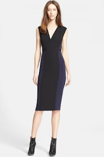 Burberry London 'April' Jersey Sheath Dress