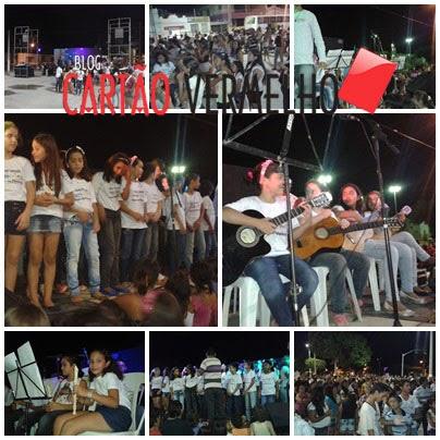 Senador Sá comemora dia do músico com inumeras apresentações na praça de eventos, veja!
