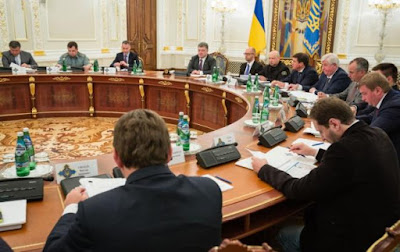 The NSDC adopted a decision on coordination of the intelligence agencies activities