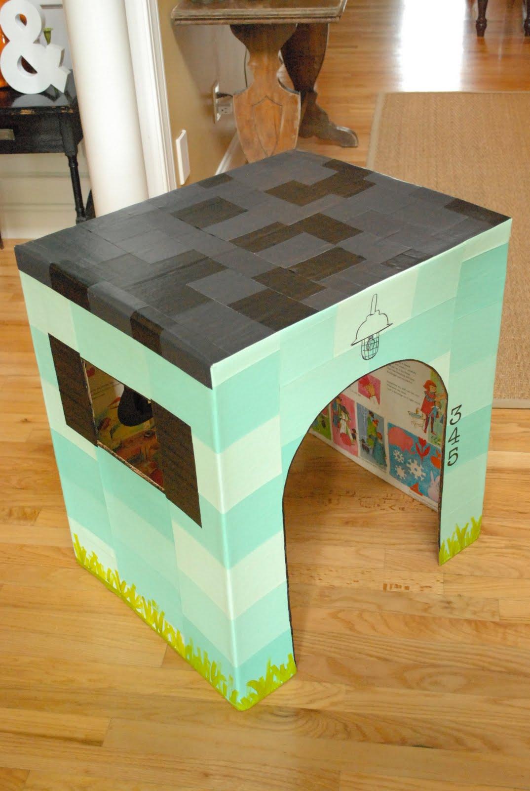 Делаем эконом мебель из картона: стол, полки для книг и обуви 9
