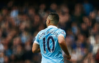 Manchester City striker Sergio Aguero returns from injury