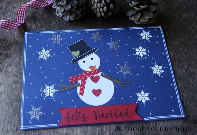 felicitaciones navidad hecho a mano