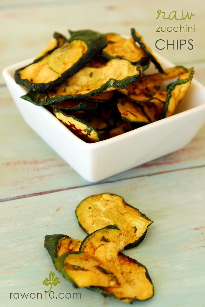 Raw on 10 a day or less march 2016 raw zucchini chips super easy raw food recipe forumfinder Images