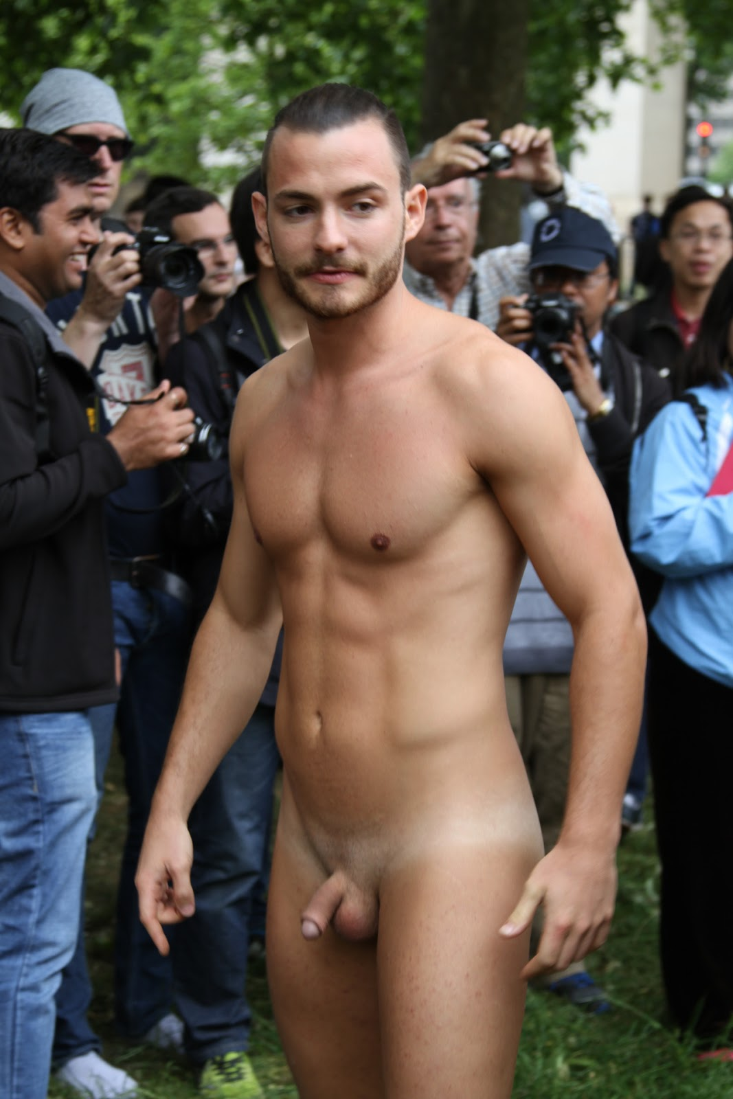 protest Naked mexican lads
