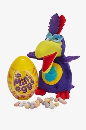 Cadbury Parrot and Mini Eggs