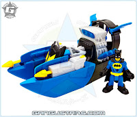 Imaginext DC Super Friends BatBoat Fisher-Price dc comics Batman