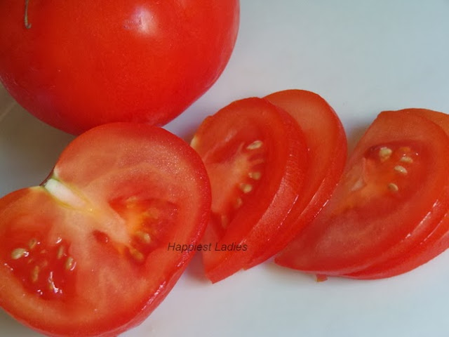 Tomatoes skin care