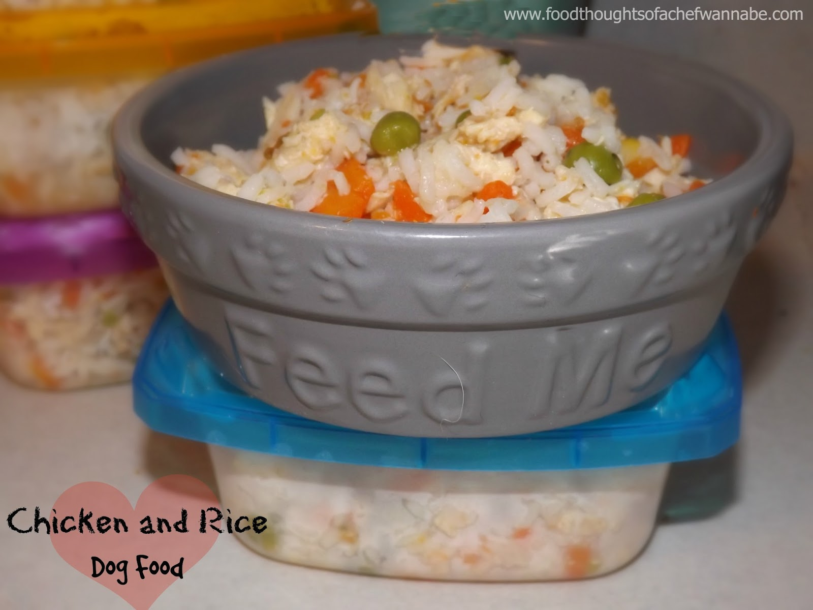 Foodthoughtsofachefwannabe chicken and rice dog food chicken and rice dog food forumfinder Image collections