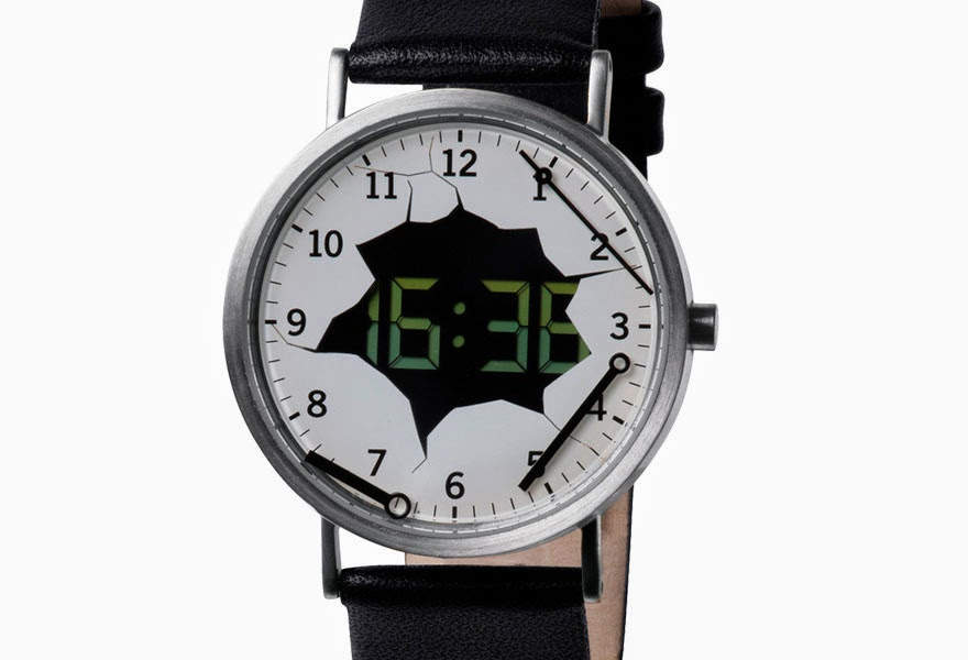 24 Of The Most Creative Watches Ever - Digital Destruction Watch