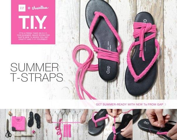 customizing flip flops tutorial