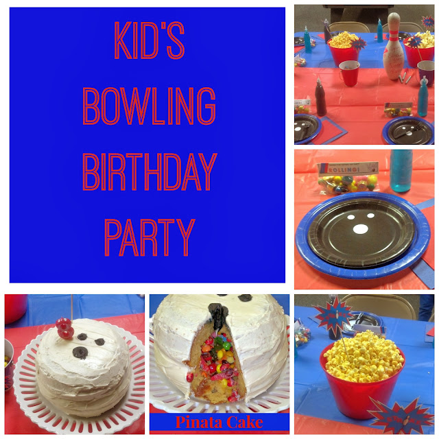 Super fun ideas for your next bowling birthday party! #birthday #party #bowling #kids