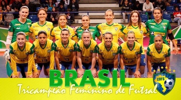Rubio M. Guerra  BRASIL - Campeao Mundial de Futsal FEMININO a8d8019a258aa