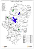 Mapa terrorial de actividades de SOMOS en Aragón