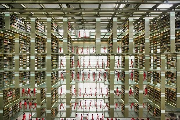 Biblioteca vasconcelos alberto kalach blog for Biblioteca arquitectura