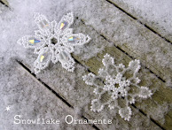 *Snowflake* Ornaments