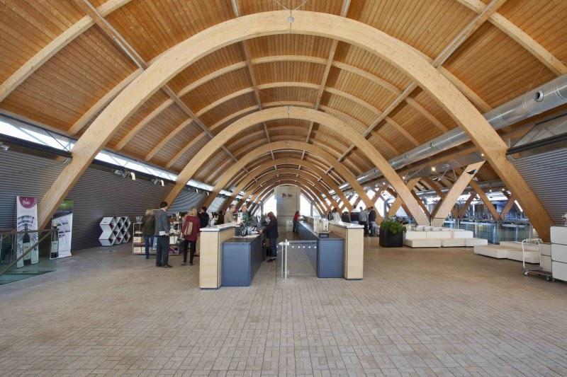 Los arcos de madera laminada - Cubiertas de madera laminada ...