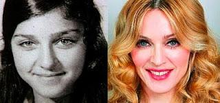 estrelas, famosas, hollyhood, atriz, cantora, fotos, madonna, passado e presente