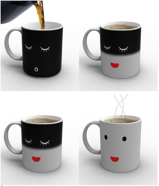 the sleepy mug design