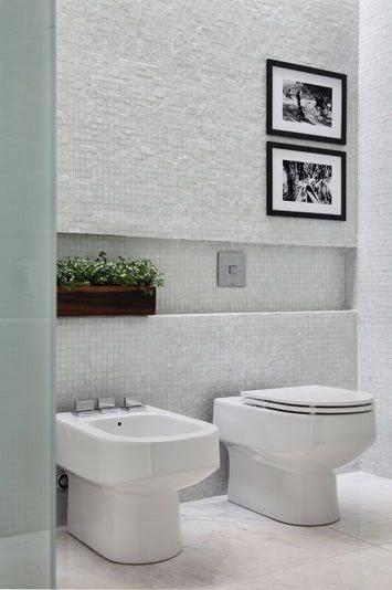PRATELEIRAS E NICHOS NO BANHEIRO  Papo de Design -> Nicho Alvenaria Banheiro