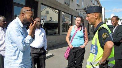 Harassment of Somalis in Forserum