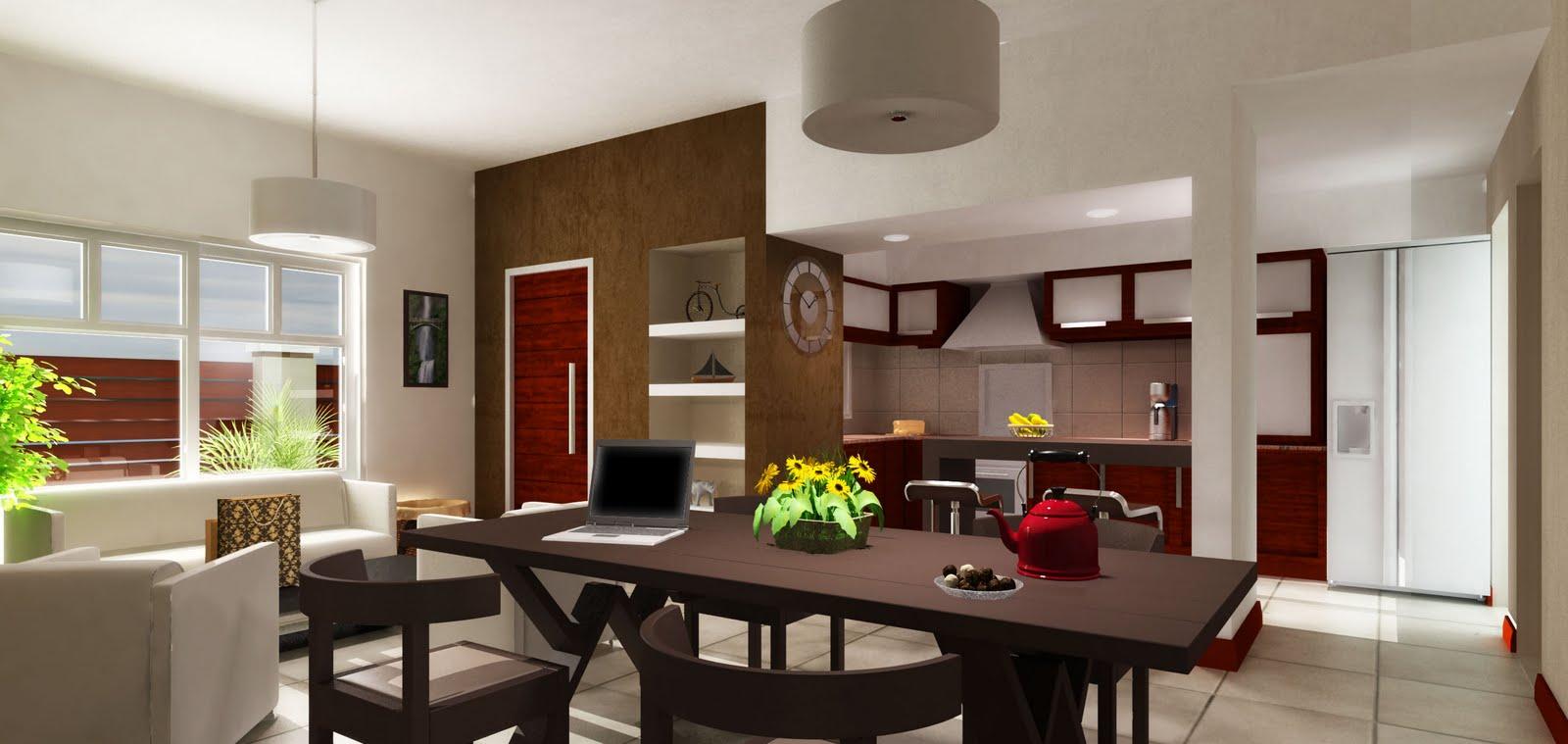 Una vivienda de líneas sencillas, techo plano, una presentación de