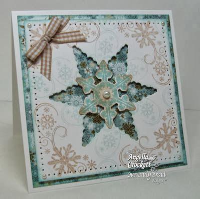 ODBD Products:  Sparkling Snowflakes, Snowflake Mini, ODBD Custom Snowflakes Die