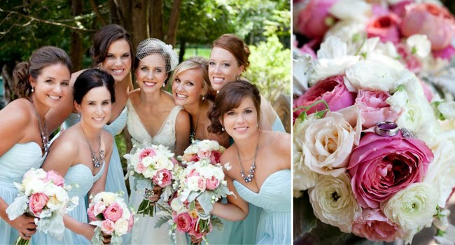 Wedding Flower Trends for Summer and Fall 2014