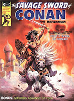 Savage Sword of Conan #8, Death-Song of Conan