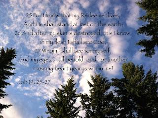 Job 19: 25-27