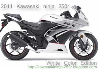 White Ninja 250R