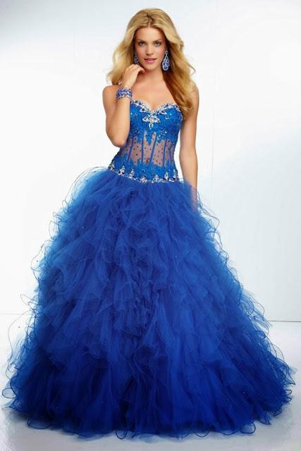 179d3462f Vestidos de XV años 2014 azul turquesa - Imagui