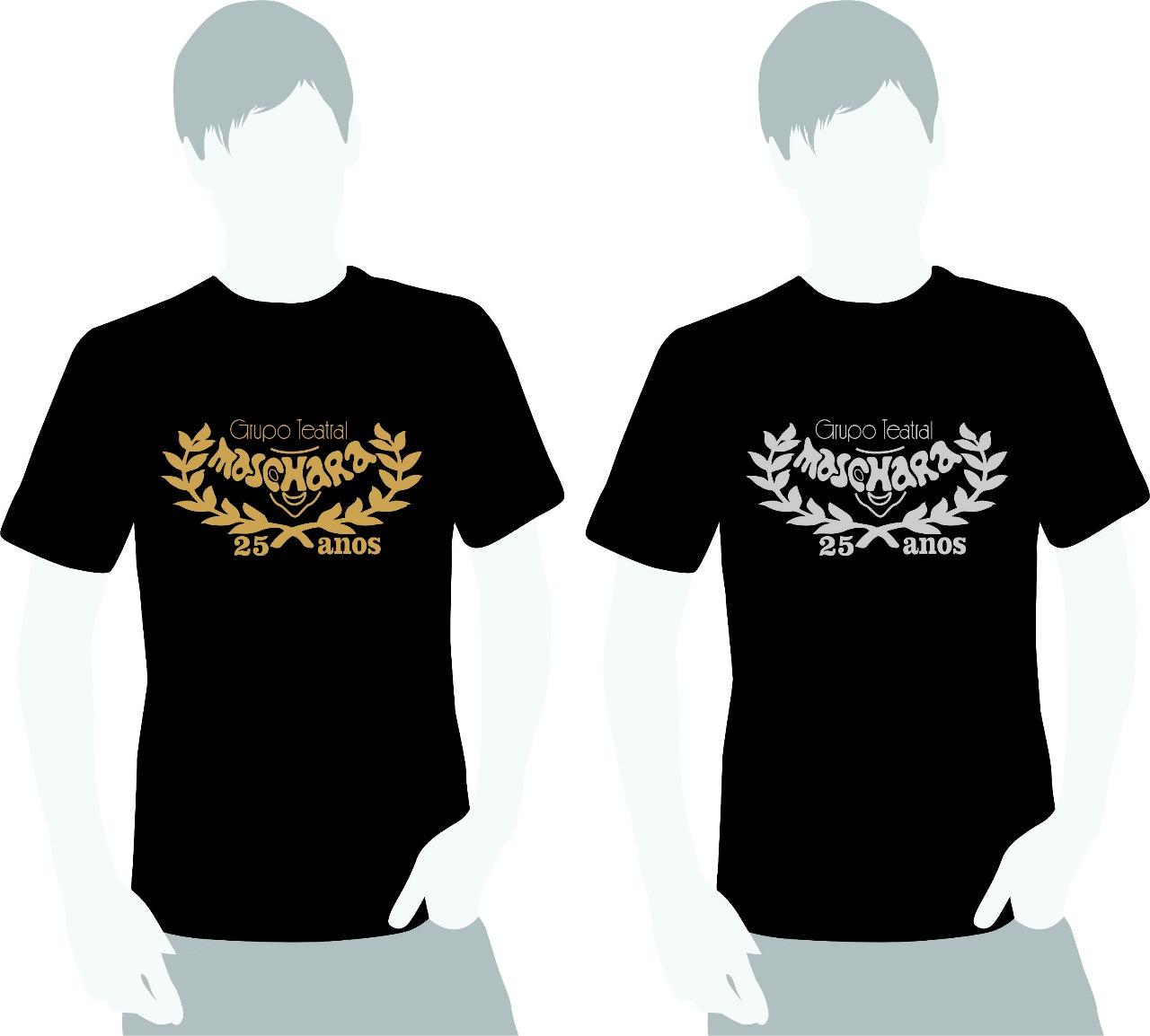 Camisetas comemorativas. Adquira a sua