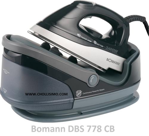 Bomann DBS 778 CB, centro de planchado, comprar centro de plancha do barato