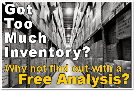 inventory optimization by keeping track of forward covers retail