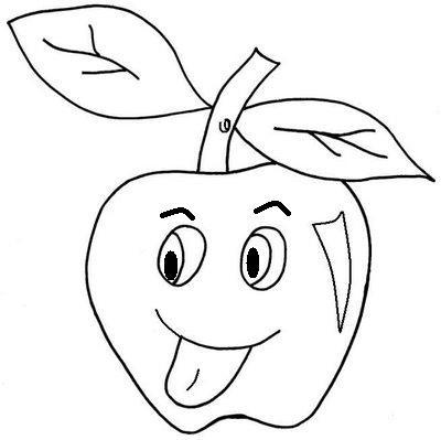 Desenho De Morango Para Colorir Frutas