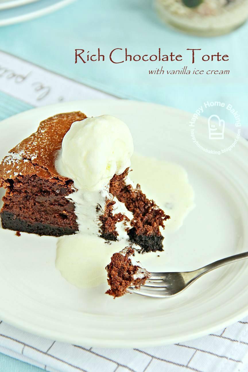 Chocolate tart with white chocolate sauce recipe - BBC Food