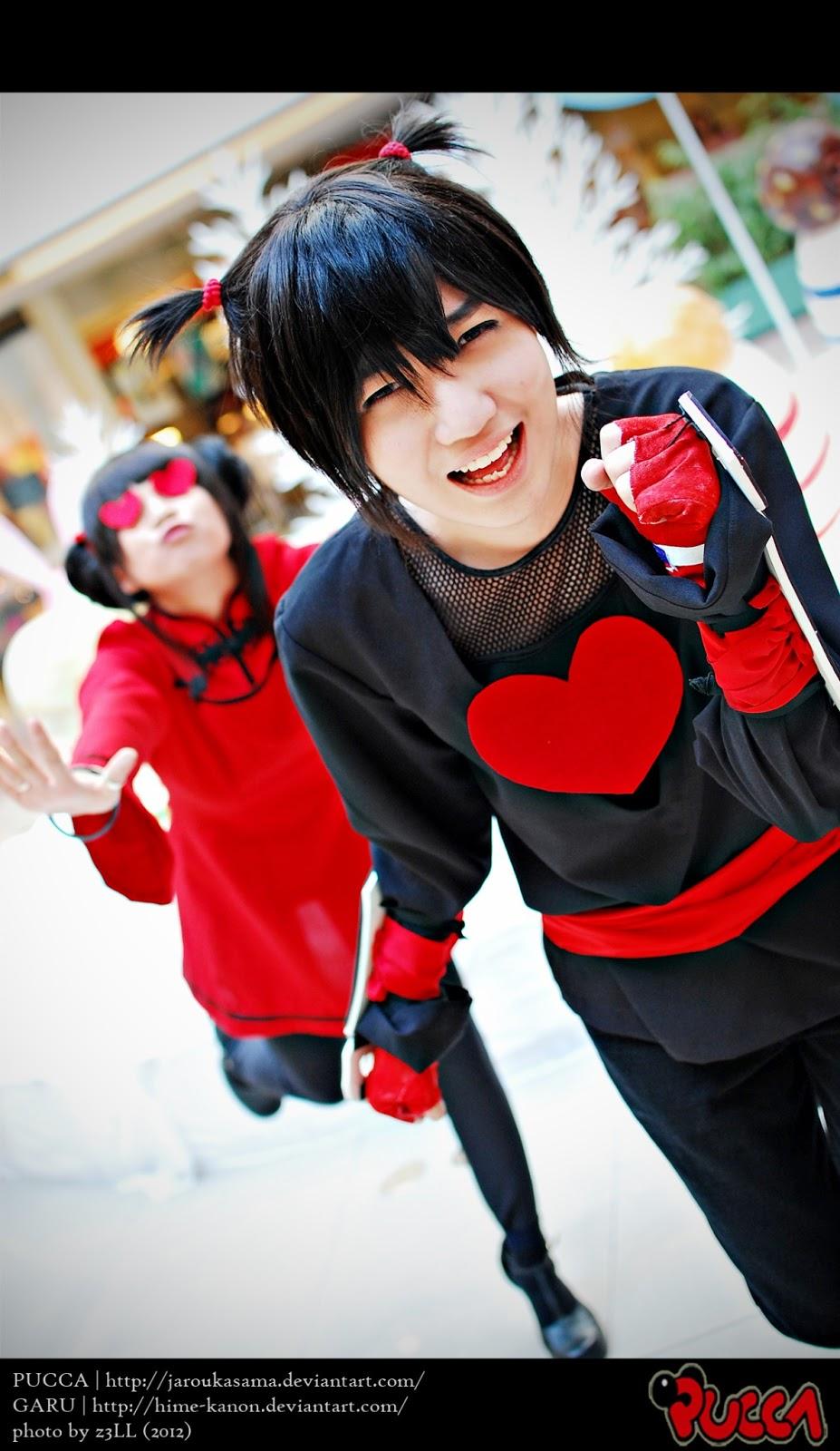 pucca and garu cosplay