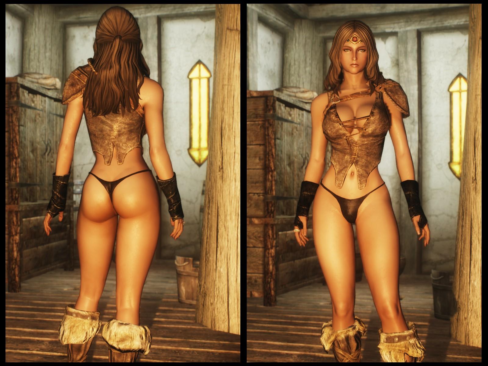 Aion skin sexy naked pics