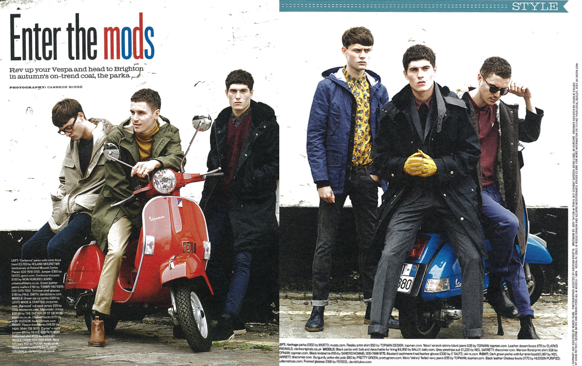 Moderno Mundo It 39 S A Mod Mod World Enter The Mods Moda Masculina