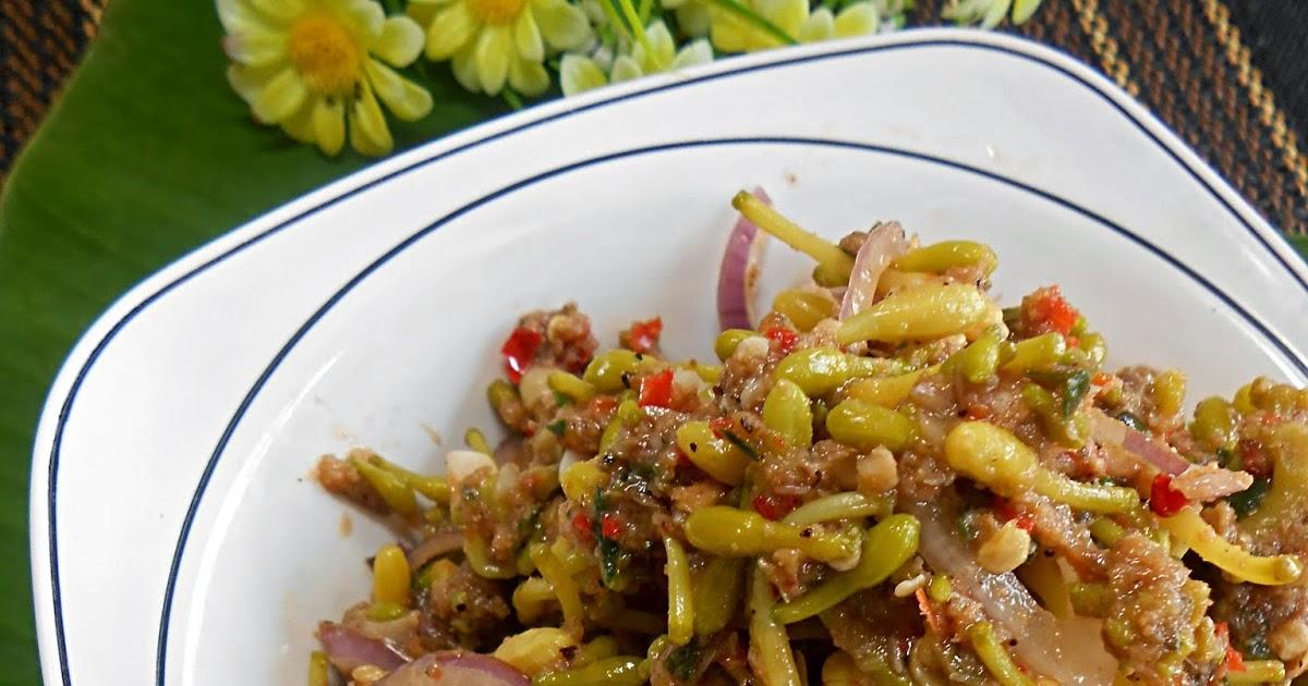 Kerabu Bunga Betik Fizas Cooking
