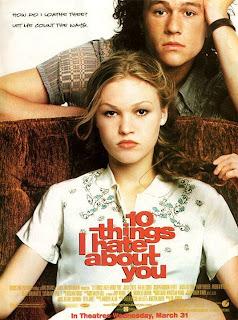 10 Cosas que odio de tí (10 razones para odiarte) (10 Things I Hate about You) (1999) Español Latino