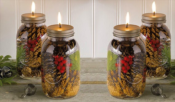 mason jar craft for home decor
