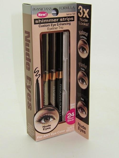 Physicians Formula Shimmer Strips Eyeliner Trio in Nude, eyeliner, best eyeliner